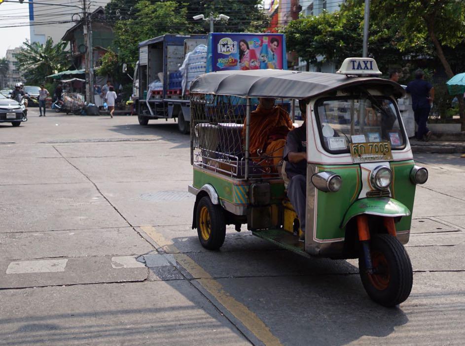 タイに寄り道。スリに遭遇